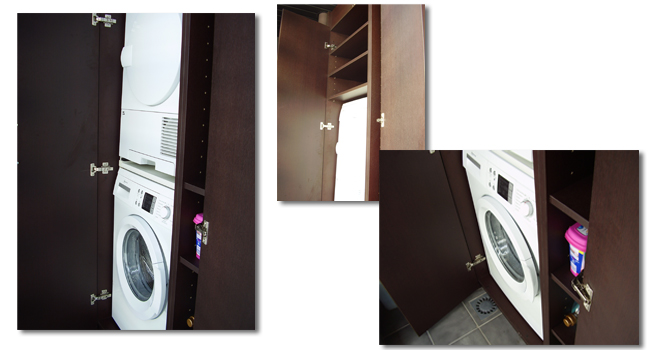 Armario terraza javi orbara for Mueble lavadora